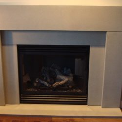 Clays Concrete Countertops - Fireplace